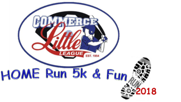 Commerce Little League Home Run 5k & 1 Mile Fun Run