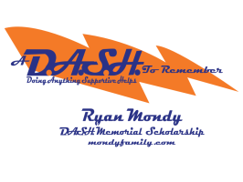 Dash to Remember