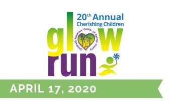 Cherishing Children Glow Run in Downtown Rogers: 5k, 1-mile walk, and 400 yard dash